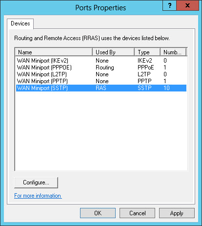 Routing and remote access windows 7